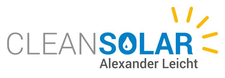 Photovoltaik-Reinigung Cleansolar Alexander Leicht